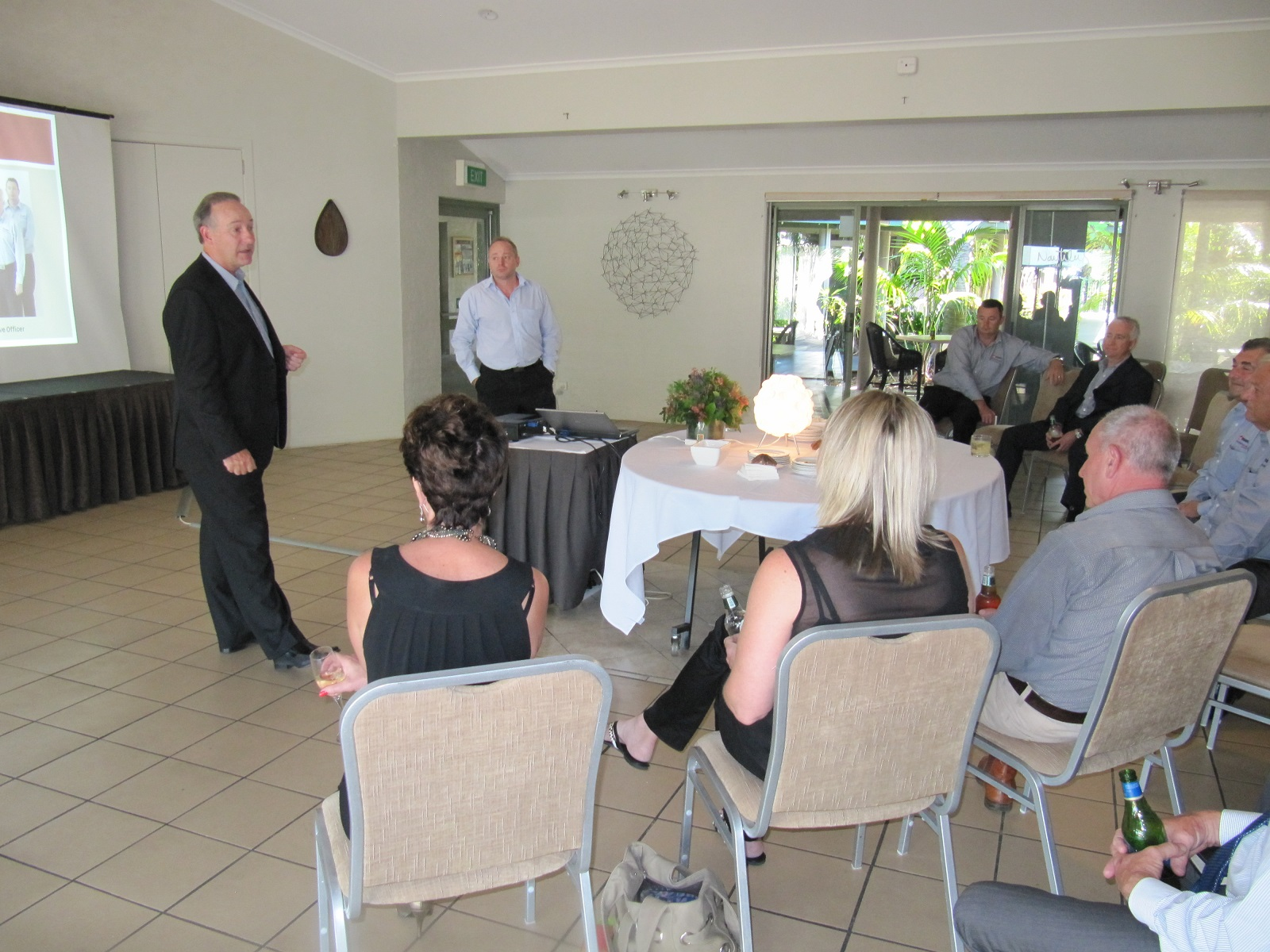 EAC Chairman Dale Whittaker presenting at Northern Rivers Members Meeting