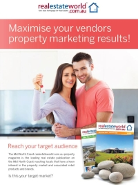 Click here to view the realestateworld.com.au Mid North Coast publication brochure